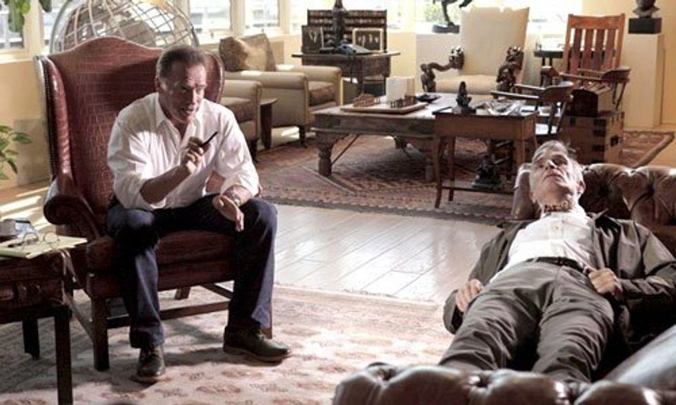 Bill Nye + Arnold Schwarzenegger Confront Climate Denial Head On