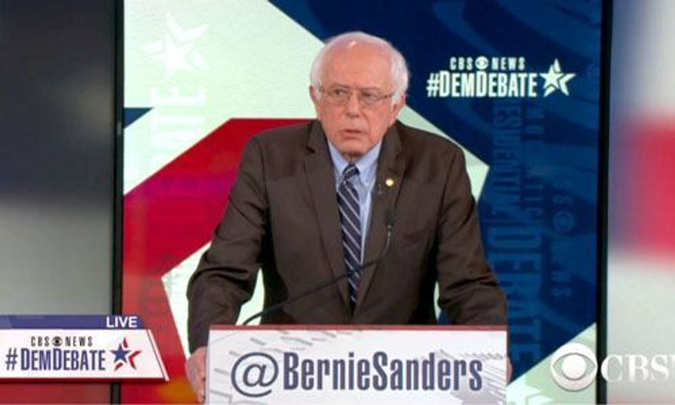 Bernie Sanders: 'Climate Change Is Directly Related to the Growth of Terrorism'