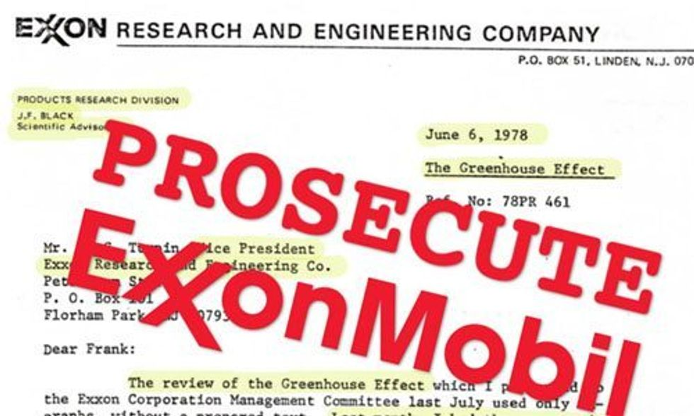 Who Pays the Real Cost of Exxon's Climate Deception?