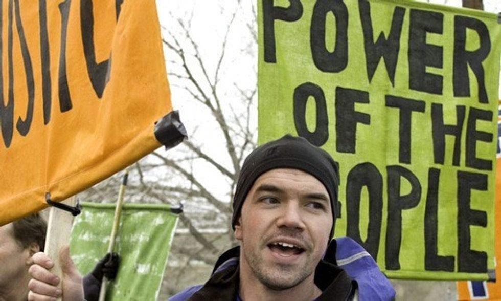 Tim DeChristopher: Don't Back Down in Paris