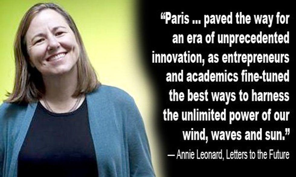 Annie Leonard's Letter to the Future