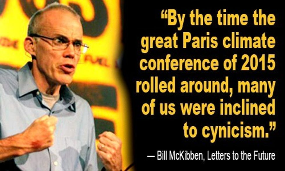 Bill McKibben's Letter to the Future