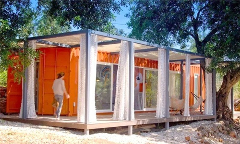 6 Super Cool Tiny Houses Made From Shipping Containers