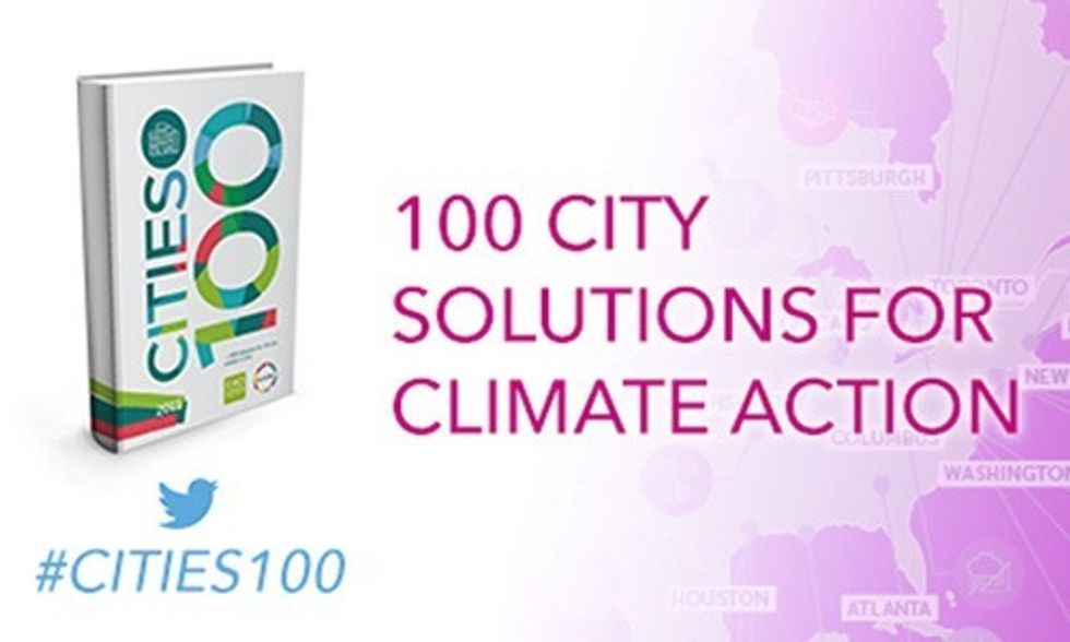 100 City Solutions for Climate Action From the U.S. and Around the World