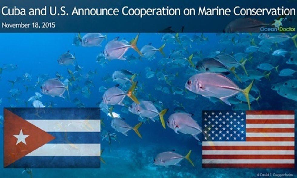 Cuba and U.S. Announce Historic Partnership on Marine Conservation