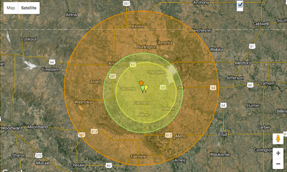 Strong Earthquake Rattles Oklahoma, Felt in 7 Other States