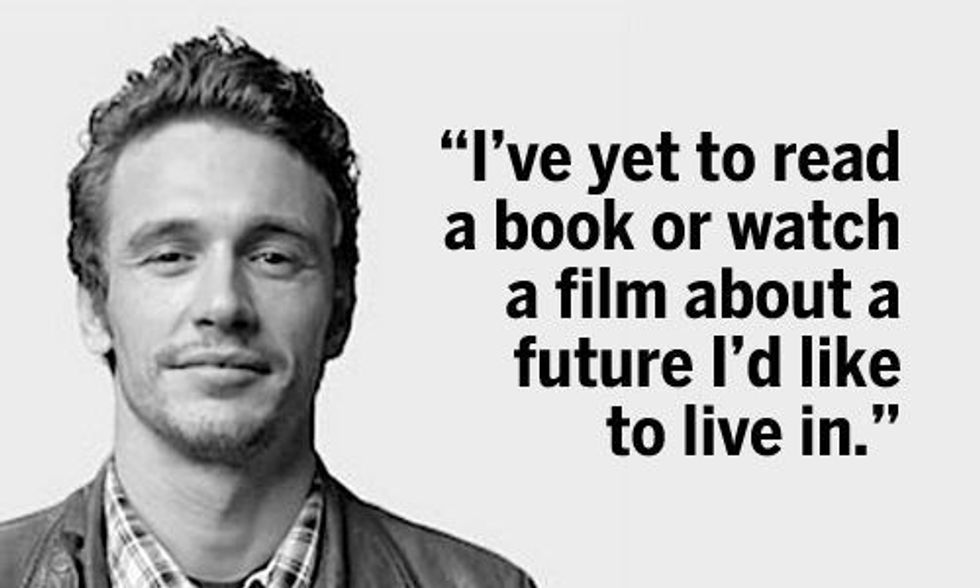 James Franco's Poem on Climate Change: 'I Was Born Into a World'