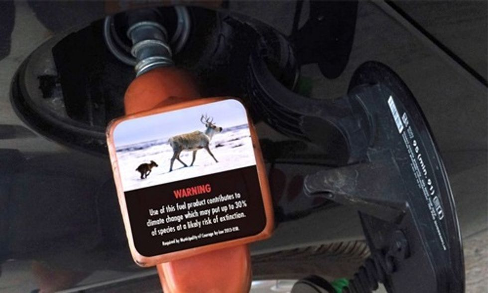 This City is the World's First to Mandate Climate Change Warning Labels on Gas Pumps