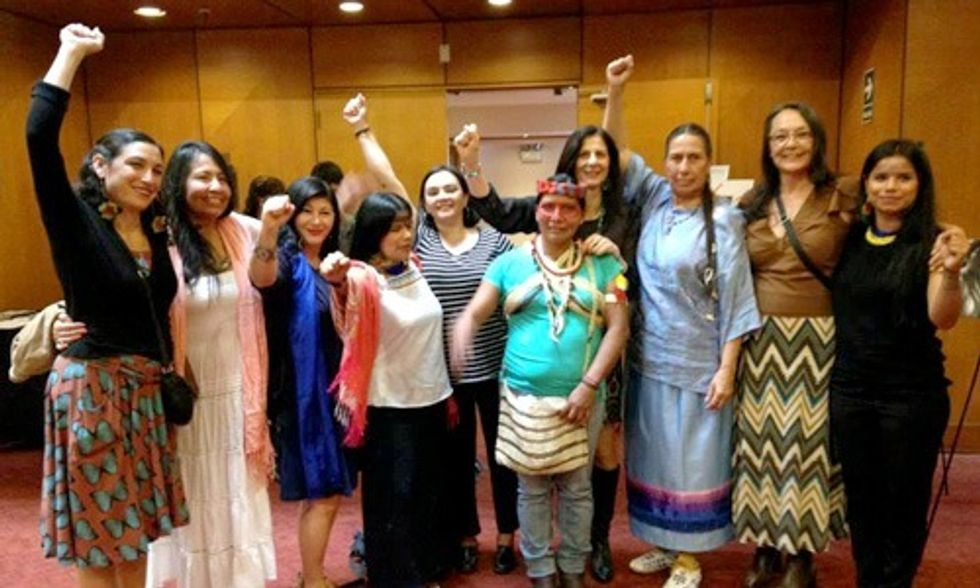 Women Speak for Climate Justice in Lead Up to COP21