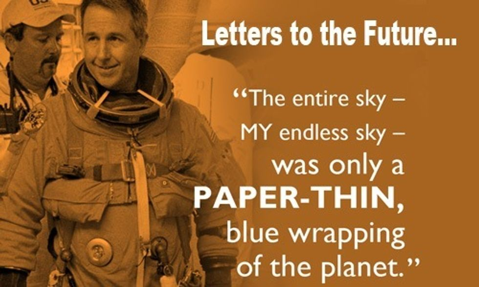 Astronaut Stephen Robinson's Letter to the Future