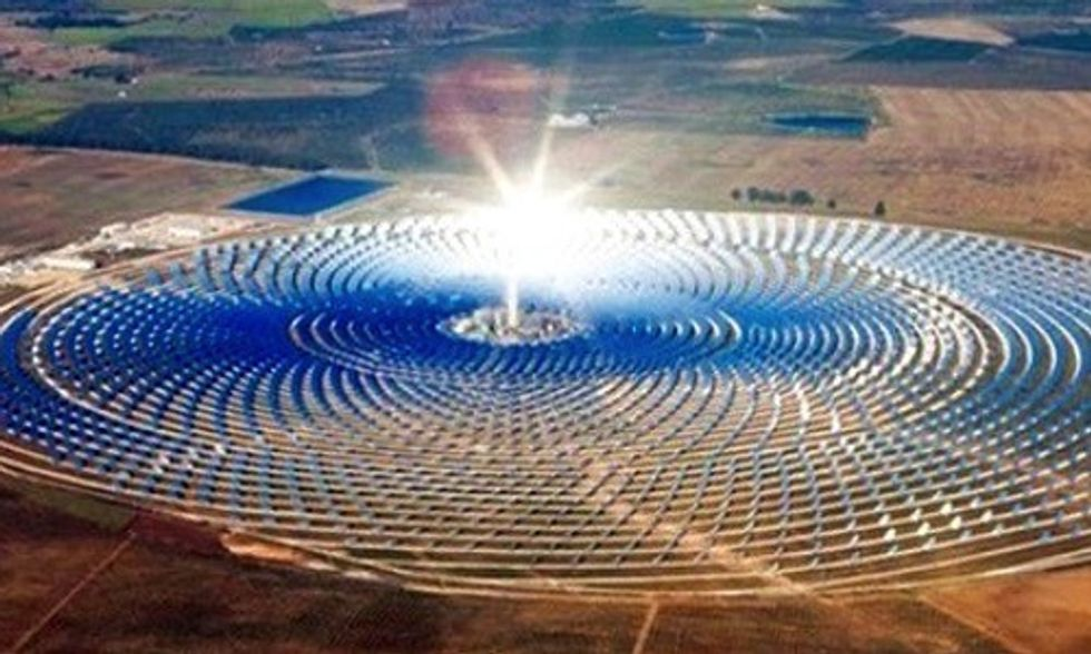 Morocco's Giant Solar Plant to Bring Energy to 1 Million People