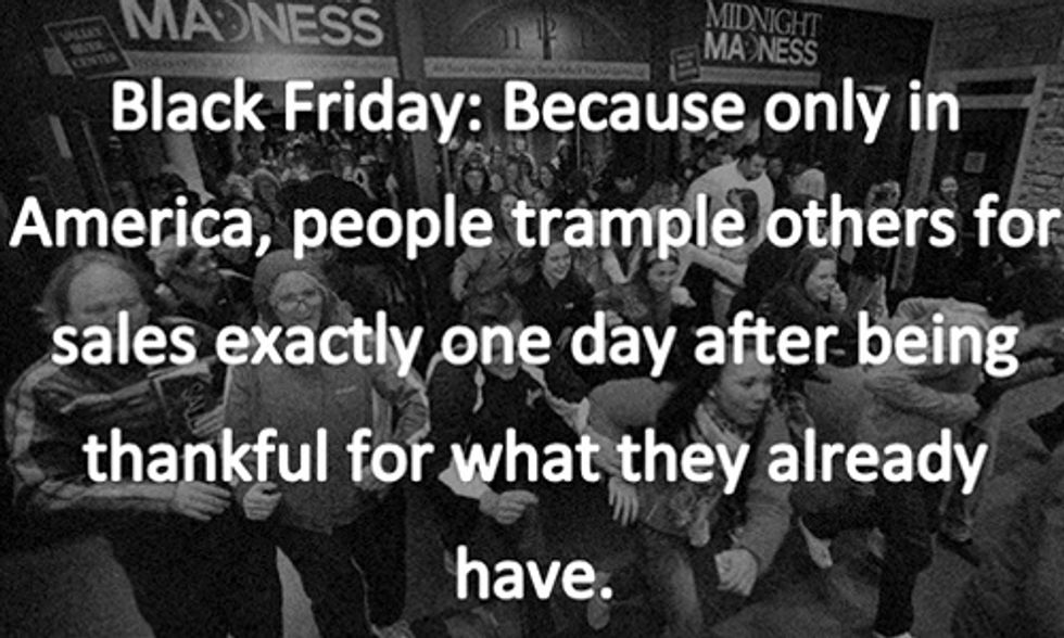 14 Awesome #BlackFridayin3Words Tweets: 'I Can't Even' (My Favorite)