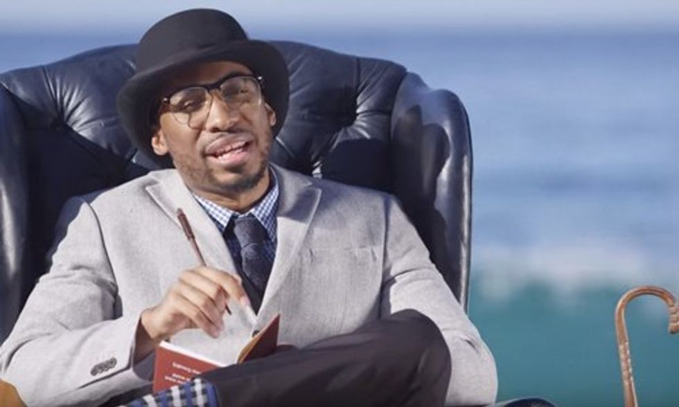 Viral Spoken Word Artist Prince Ea Releases Powerful New Video 'Man vs. Earth'