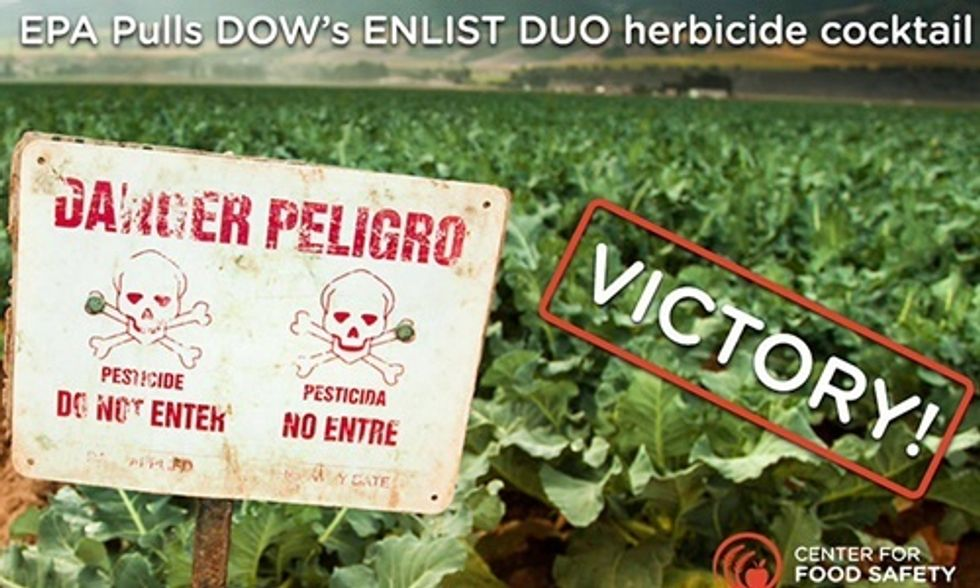 EPA Asks Court to Revoke Approval of New Weed Killer for Genetically Engineered Crops