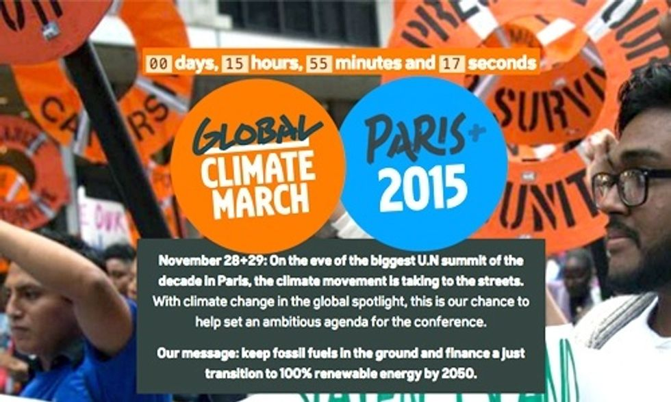 The World Takes to the Streets Ahead of Paris Climate Talks