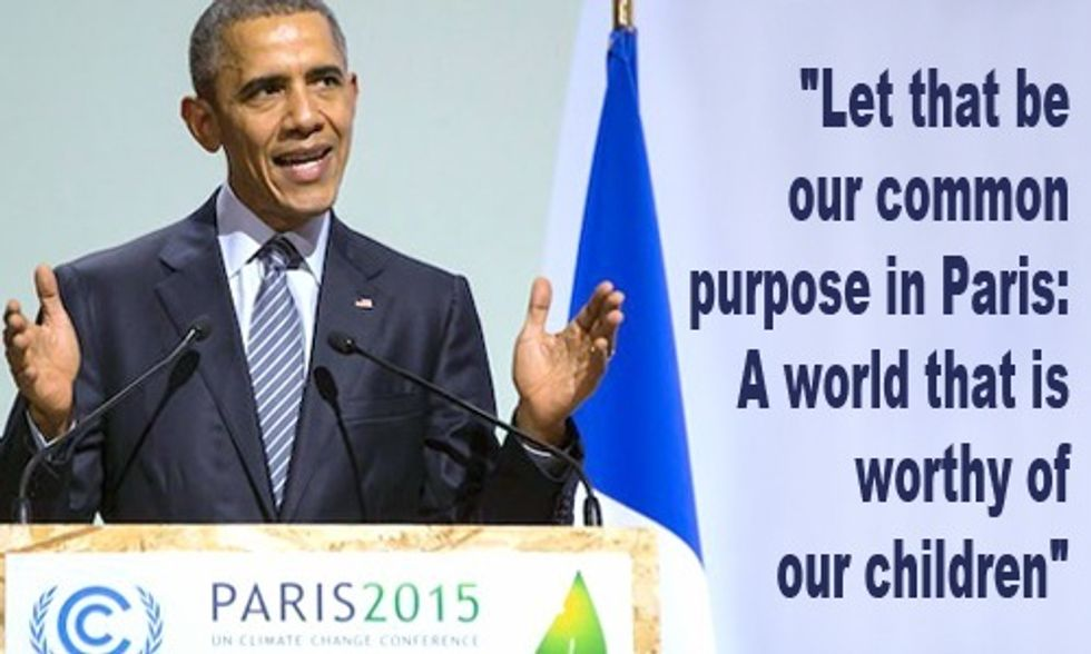 Obama: We Must Create a 'World That is Worthy of Our Children'
