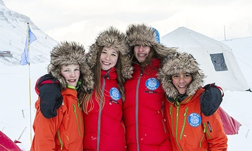 These 4 Kids Walked to the North Pole and Now They Need Your Help