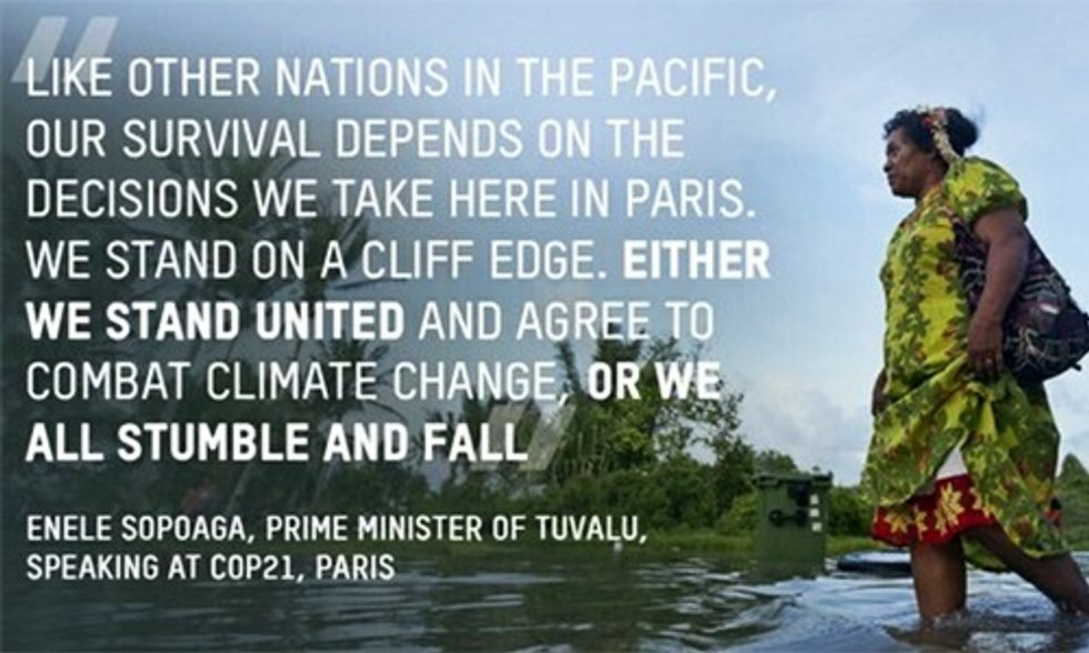 Least to Blame, Hardest Hit: Vulnerable Nations Show Leadership at COP21