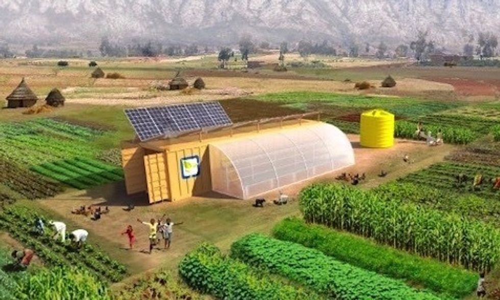 Solar Powered 'Farm from a Box': Everything You Need to Run an Off-Grid Farm