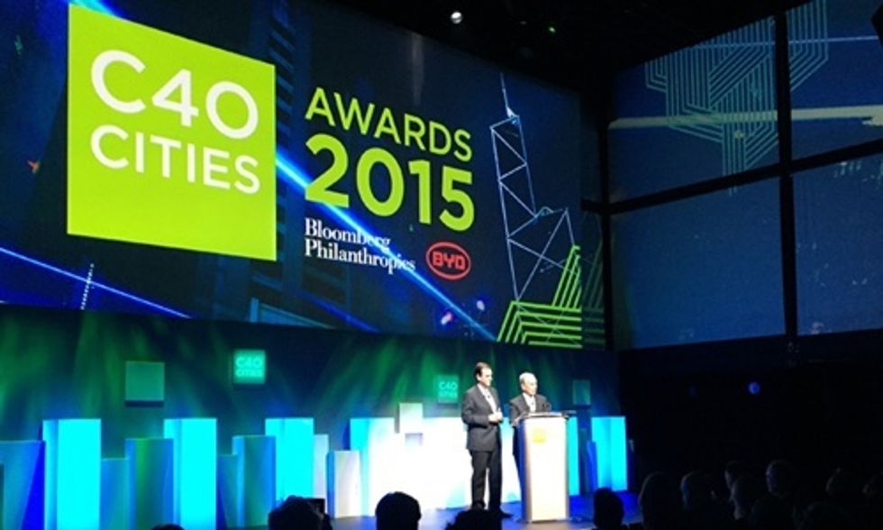 10 Cities Win C40 Award for Leading the Fight Against Climate Change