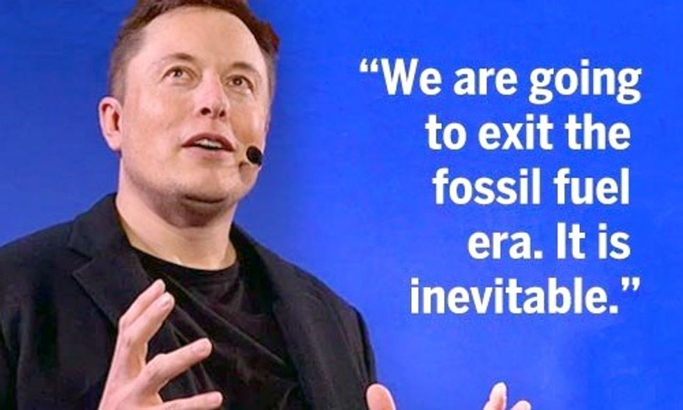 Elon Musk: We Must Put a Price on Carbon to Expedite Transition to Renewables