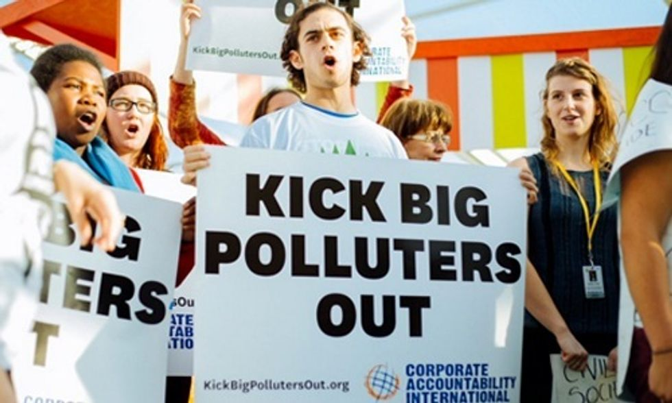Kick Big Polluters Out to Stop Corporate Capture of COP21
