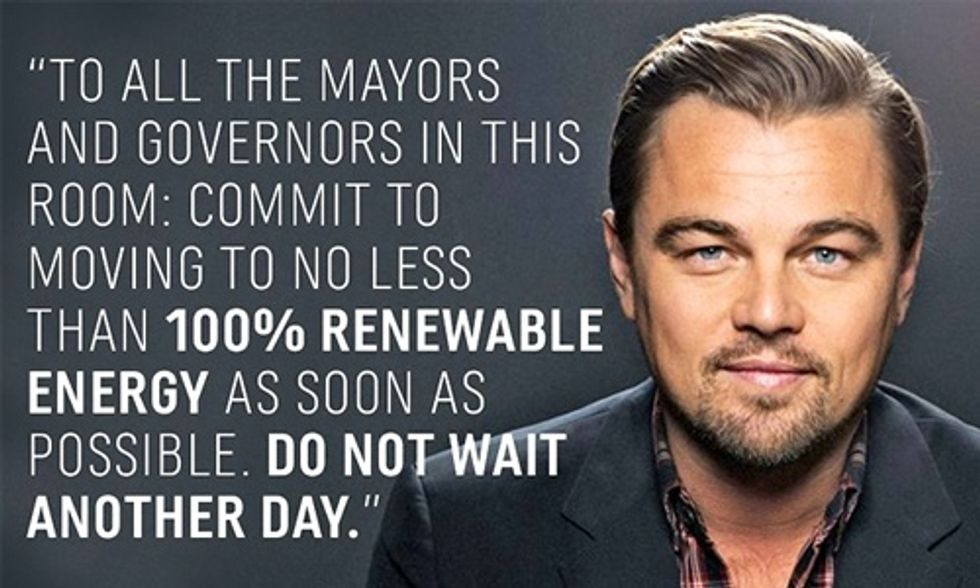 Leonardo DiCaprio: Ready for 100%