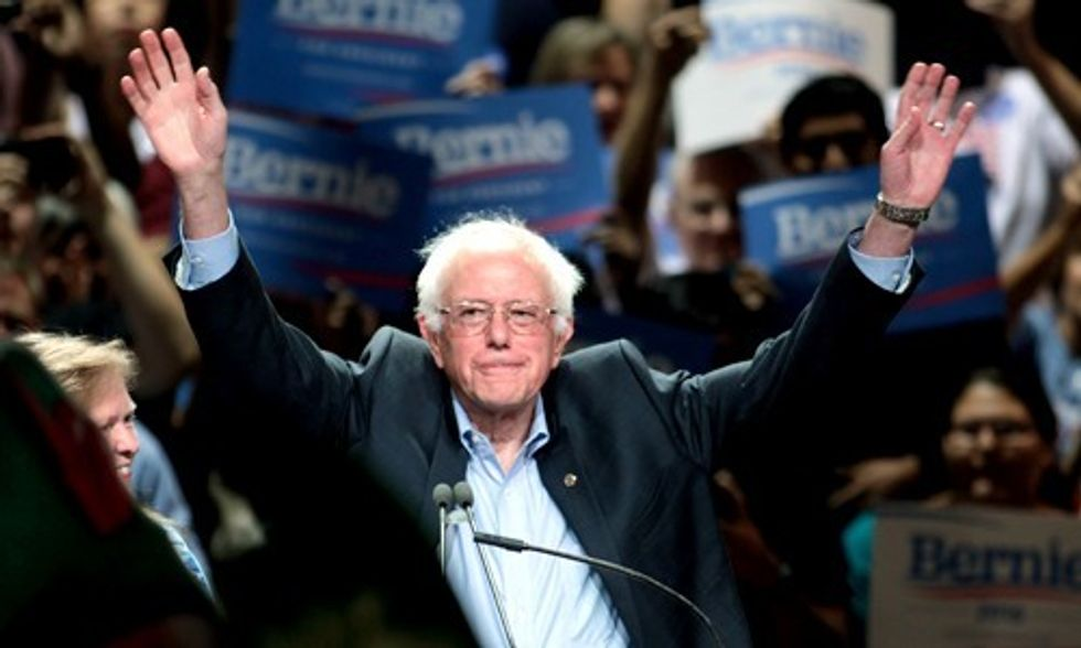 Bernie Wins Readers' Poll for TIME Person of the Year But Gets Snubbed as Trump Makes Shortlist