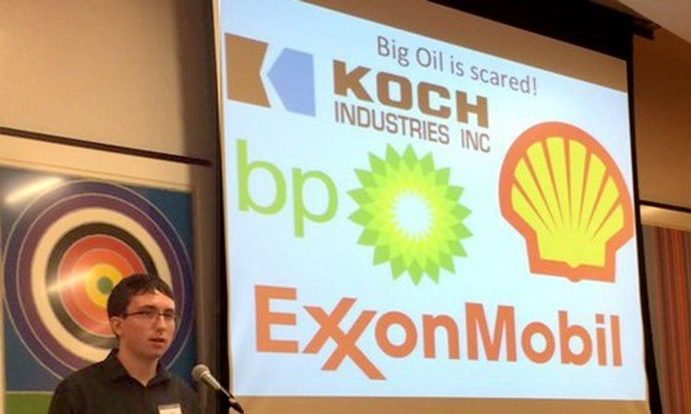 21 Teens Tell Exxon and Koch Brothers: Get Out of Our Lawsuit