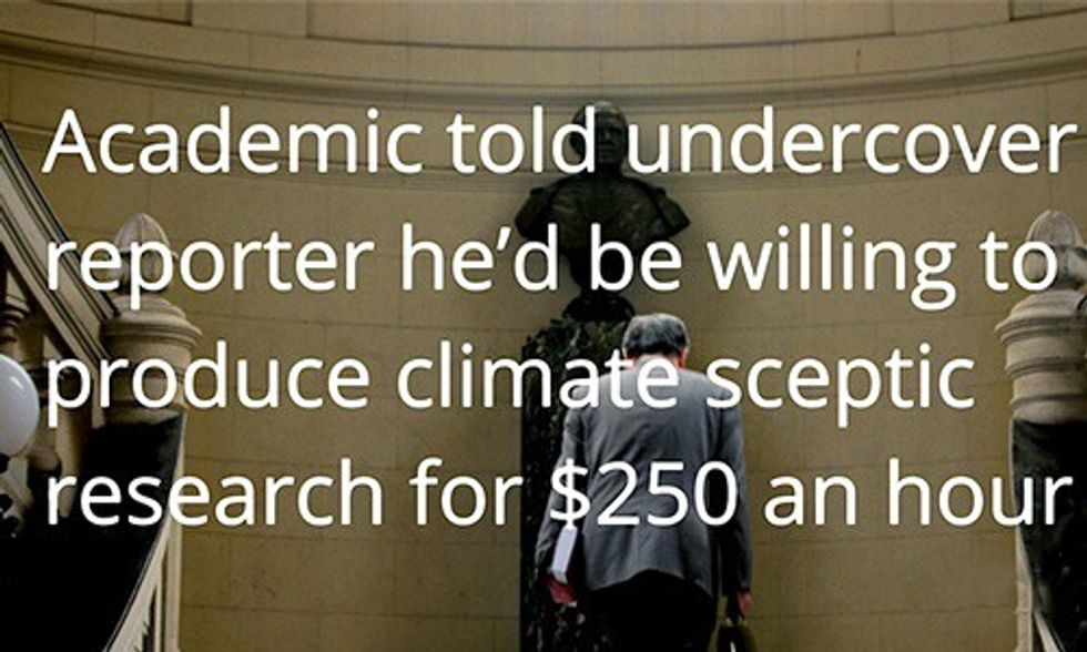 Busted: Academics-for-Hire Exposed for Failing to Disclose Fossil Fuel Funding