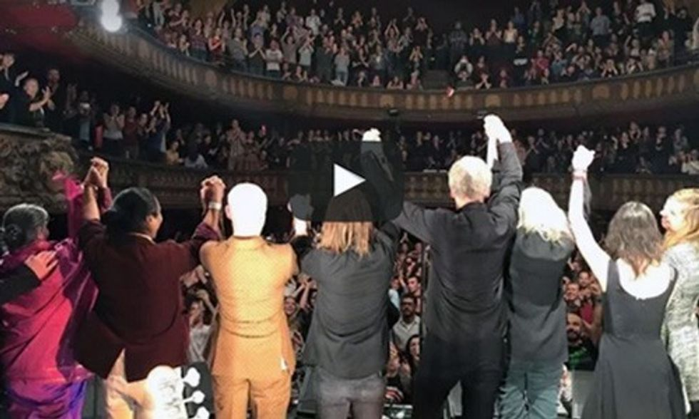 Patti Smith, Thom Yorke and Flea Rock Out at Pathway to Paris Concert
