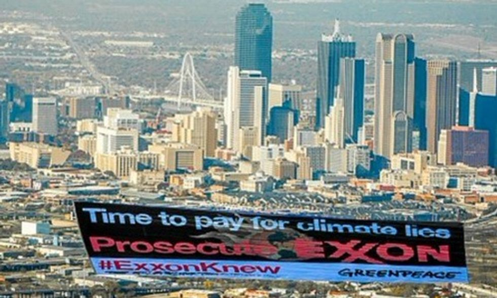 Exxon Warns Climate Inaction Risks Warming Far Beyond 2 Degrees