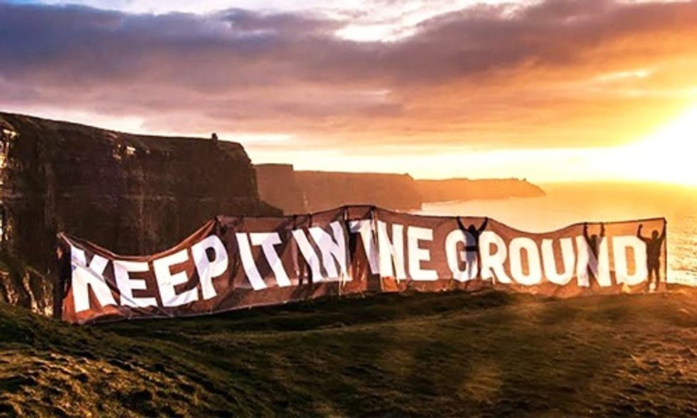 Why Climate Leadership Means Keeping Fossil Fuels in the Ground