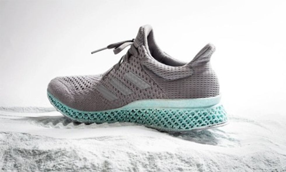 Adidas Unveils 3D-Printed Shoe Made From Plastic Ocean Waste