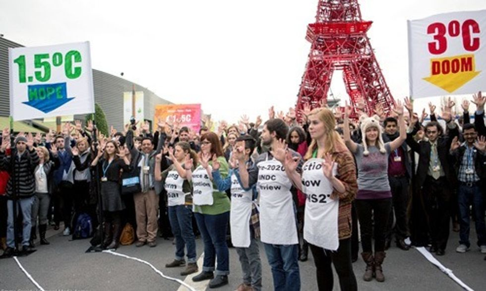Sandra Steingraber: Dispatches From the Paris Climate Talks