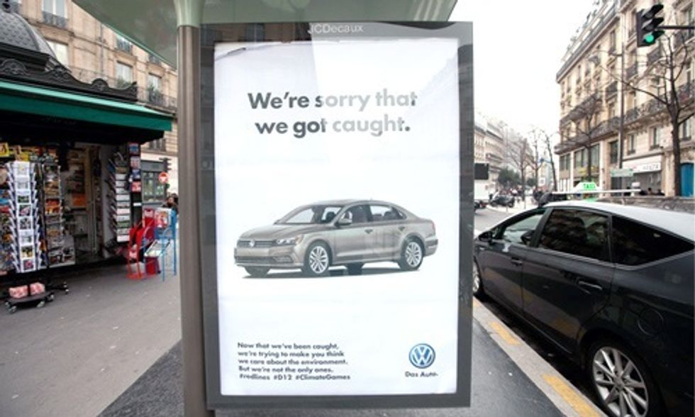VW: 'We're Sorry We Got Caught'
