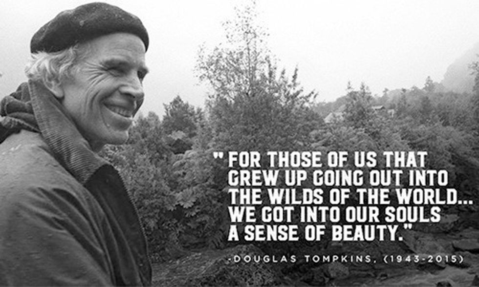 Remembering Doug Tompkins: 'Never Stop Exploring'