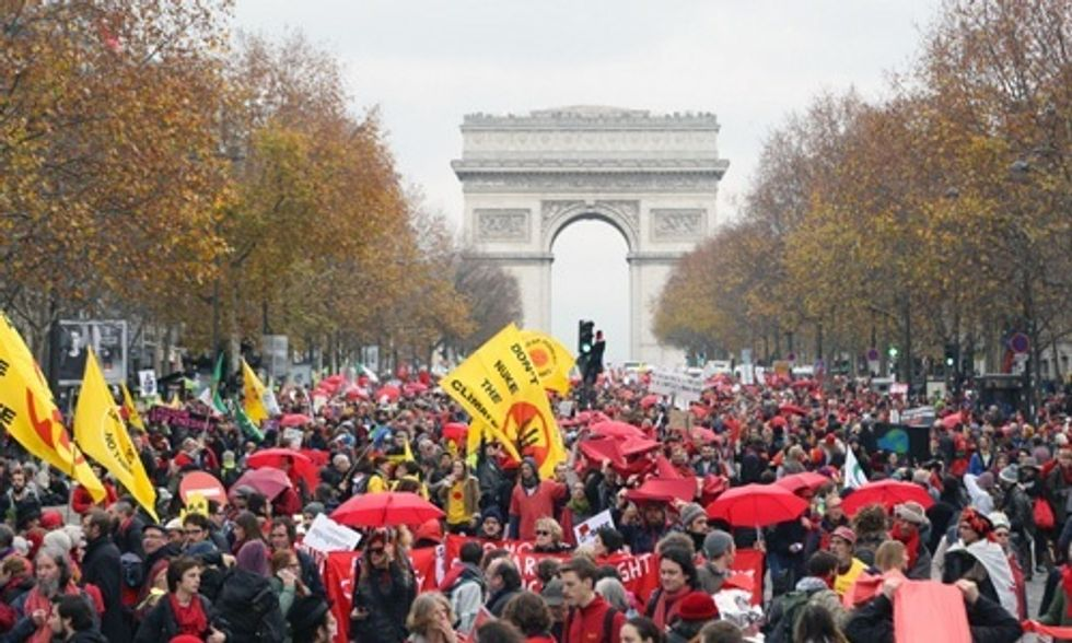 10,000+ Took to the Streets in Paris Pledging Escalated Actions in the Fight for Climate Justice