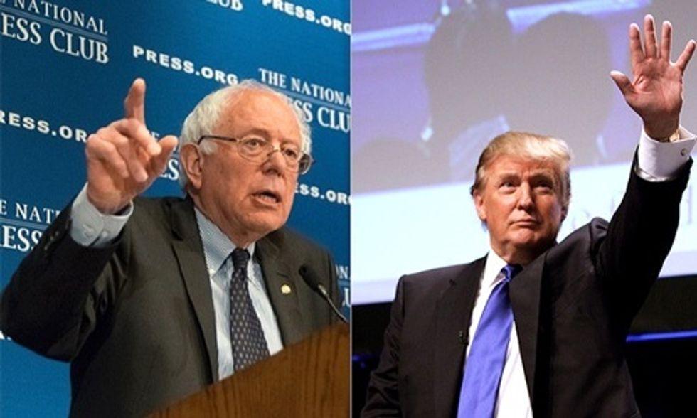 'Bernie Blackout': 81 Media Minutes on Trump = 1 Minute on Sanders