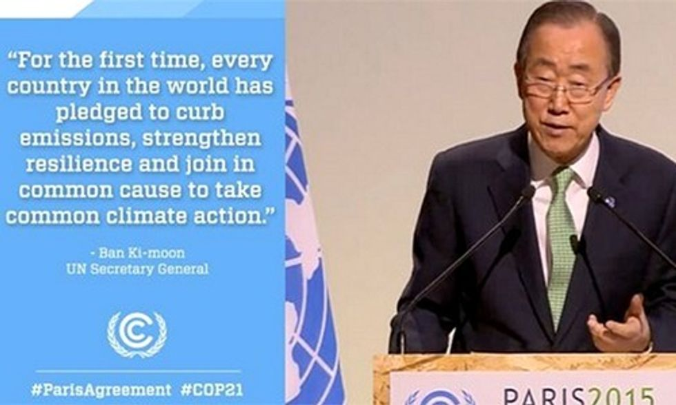 Carl Pope: Paris Agreement 'Greatest Single Victory Since Emergence of Modern Environmental Movement'