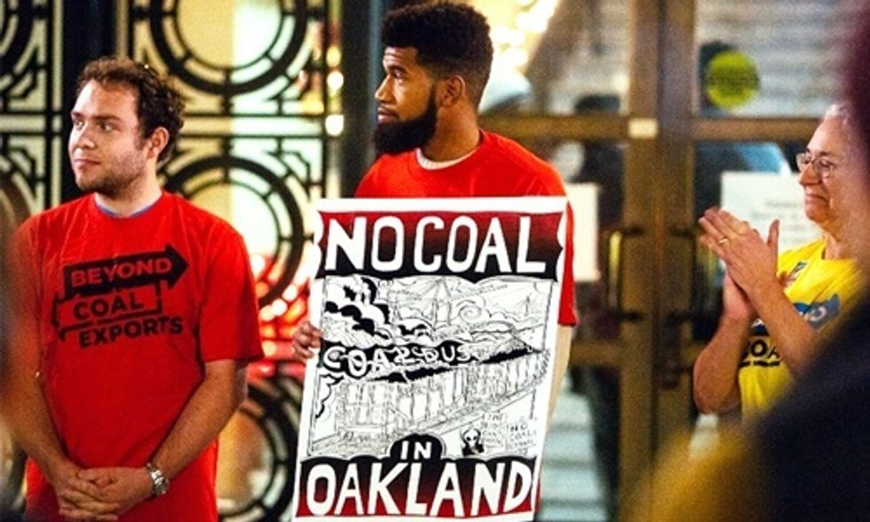 No to Coal Exports in Oakland