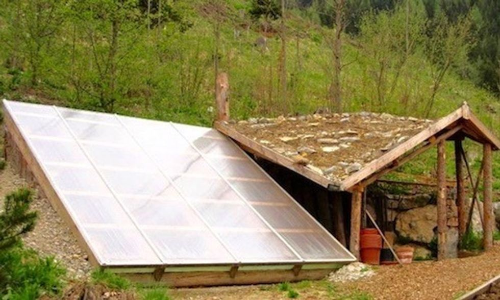 $300 Underground Greenhouse Grows Your Food Year-Round