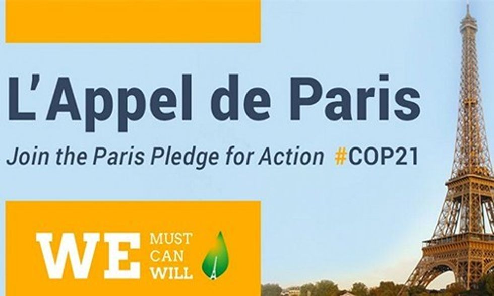400 Businesses, 120 Investors, 150 Cities Launch Paris Pledge for Climate Action