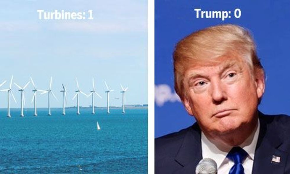 Donald Trump Loses Supreme Court Appeal Against Scottish Wind Farm