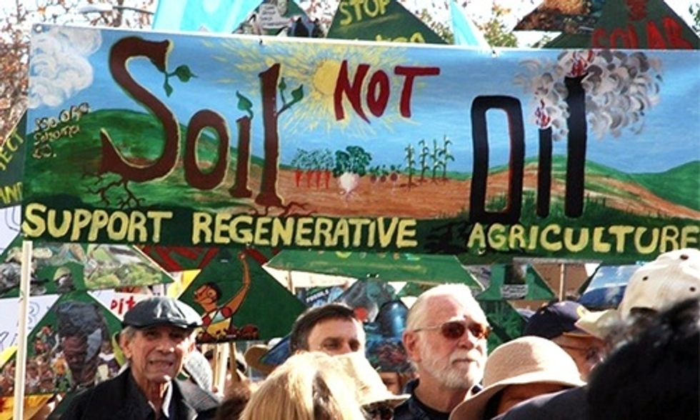 Michael Pollan: It's Time to Put Carbon Back Into the Soil