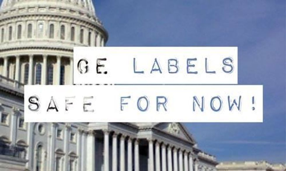 Congress Keeps Anti-GMO Labeling Rider Out of Spending Bill