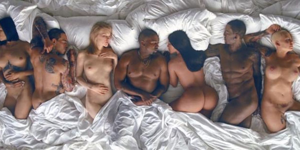 """Watch Kanye West's NSFW, Unsettling, And Brilliant Video for """"FAMOUS"""""""