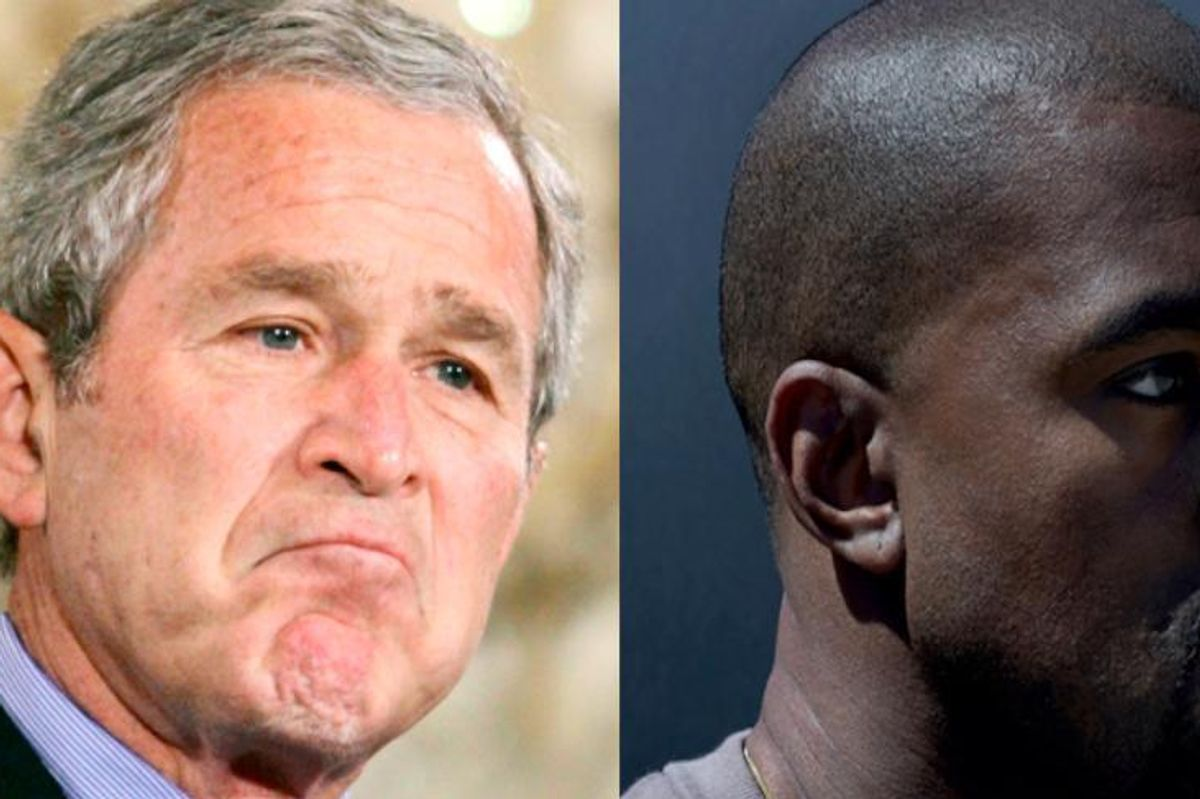 """George W. Bush Responds to Kanye's """"Famous"""""""