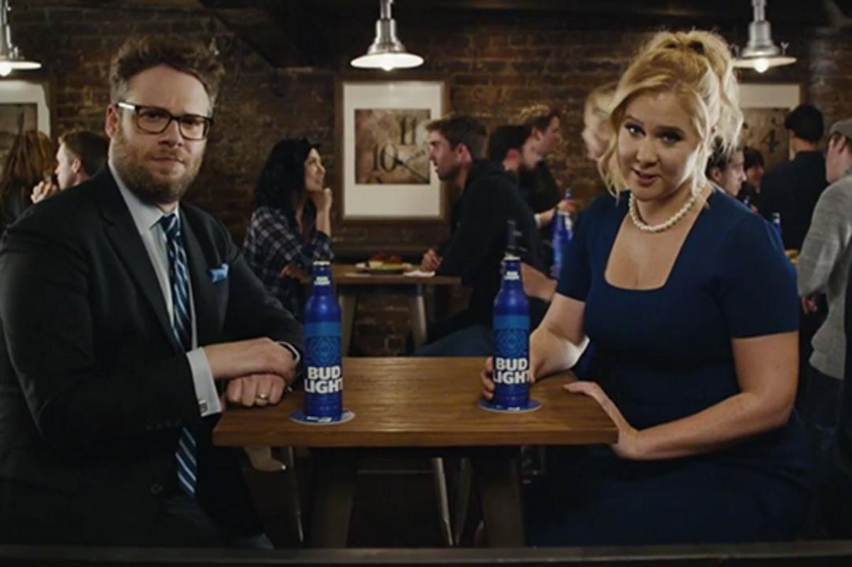 Amy Schumer and Seth Rogan Promote Bud Light and Feminism in New Ad