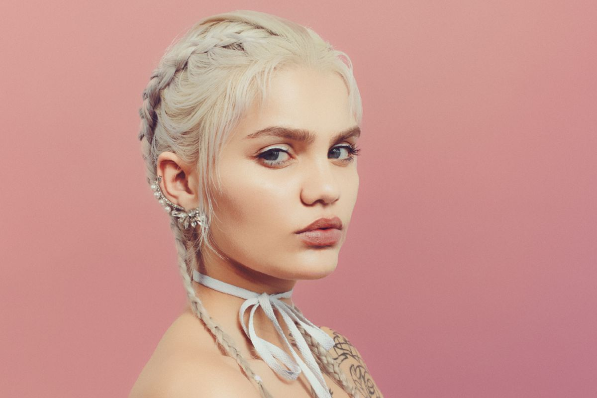 Meet Amina Blue, the Stereotype-Busting Model Whose Fans Include Kanye and Carine Roitfeld
